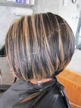 two color highlights