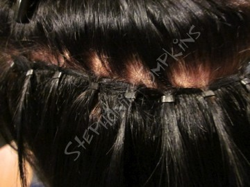 micro weft extensions