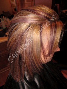 three color highlights